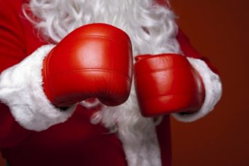 Julträning på Tullinge Muay Thai