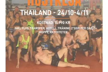 Thailandsresa i höst
