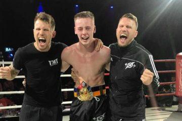 Tullinge tog tre SM-guld i thaiboxning