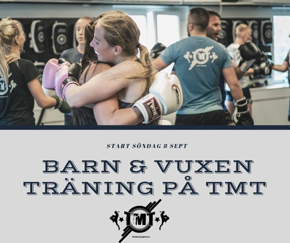 Barn & Vuxen träning Söndagar 10:00